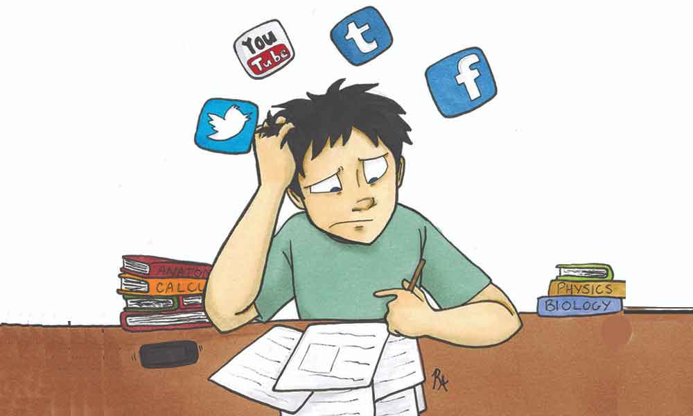 مطالعه کردن بدون حواس پرتی